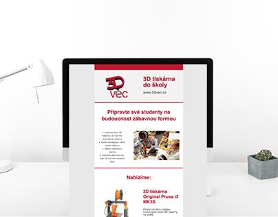 Email marketing - 3D věc
