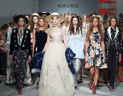 Flower prints for NAVRO fashion collection 2016 (COPY)