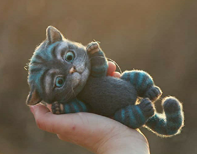Cheshire cat. Чеширский кот