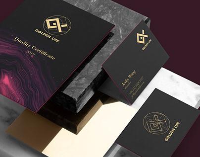 Golden Life - Gift Company Branding