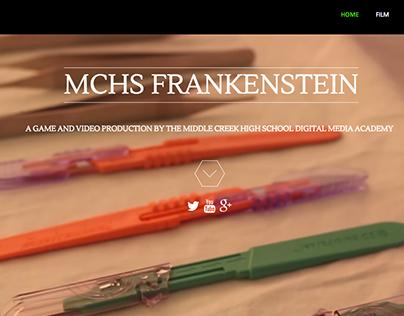 MCHS Frankenstein Website