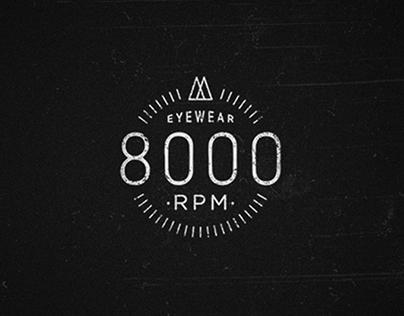 8000 RPM