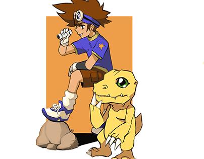 Digimon Digi-Destined Fanart