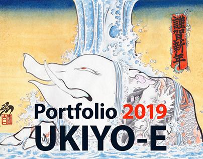 Portfolio 2019 UKIYO-E