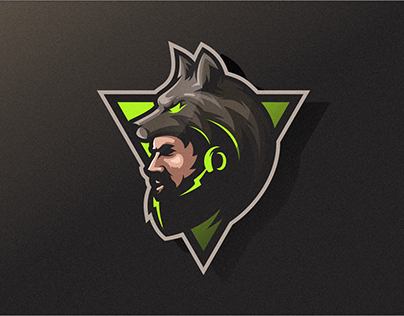 Wolf Man Logo