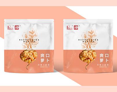 爽口萝卜榨菜包装/Radish mustard packaging