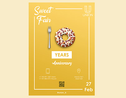 Poster - Sweet Fair, Union, IITU