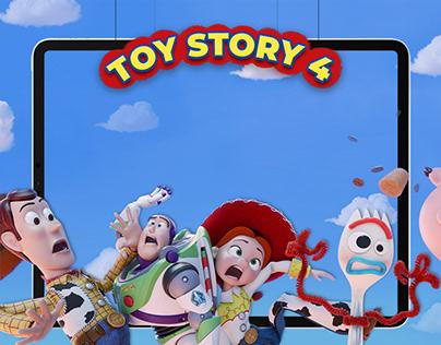 PIXAR Toy Story 4 Responsive Web Design (UXUI)
