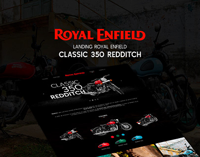 Landing Royal Enfield / Classic 350 Redditch