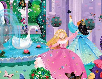 """Princess Dreams"" Classic Floor Puzzle"