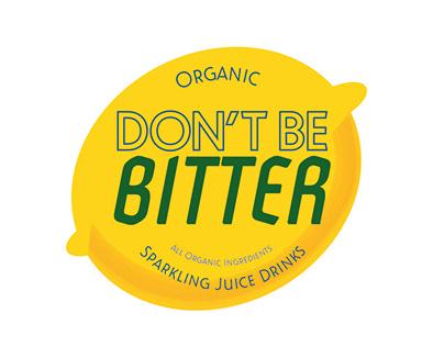 Don't Be Bitter Lemonade Brand