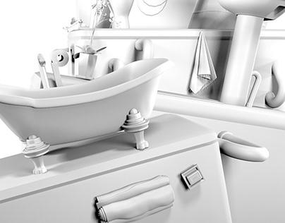 Bathroom Jigsaw