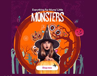 Sprii.com - Halloween Campaign
