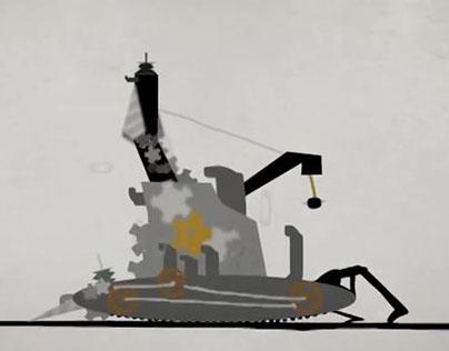 Because - Animation by Dmitriy Guzner