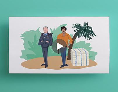 Видеоскрайбинг от Be visual! : Цэнтр новых iдэй