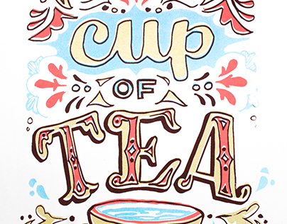 Not my Cup of Tea Screenprint
