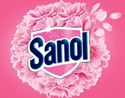 Identidade visual e linha de embalagens Sanol