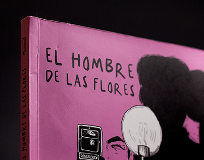 NOVELA GRÁFICA: EL HOMBRE DE LAS FLORES