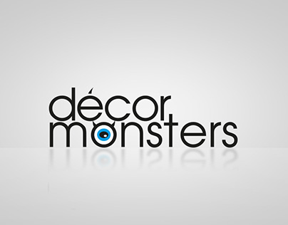 Décor Monsters logo tasarımı
