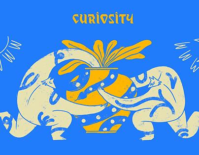 "MURAL ""CURIOSITY"""