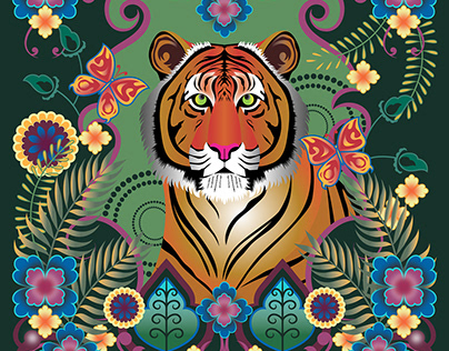 TIGER : COLORS OF INDIA PROJECT