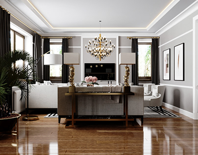 Kitchen-living room visualization