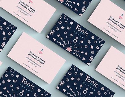 Tonic Day Spa Brand Identity