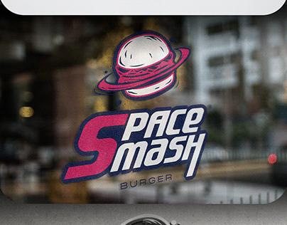 Branding Space Smash Burger