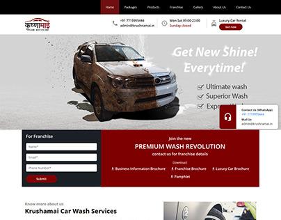 Car Wash company Website