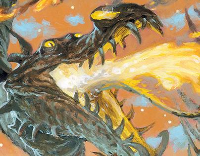 Dragons by Alvaro