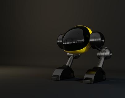 Walking Robot | Modeling & Rendering