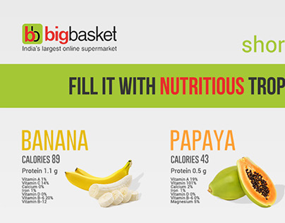 Big Basket Ad Campaign