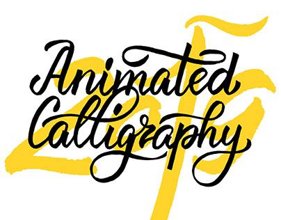 Animated Calligraphy 2019