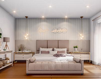 Render 35 - Dormitório e Closet