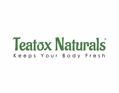 Teatox Naturals - Organic Fitness Tea Branding