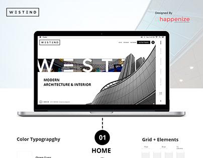 Westend - Website Design