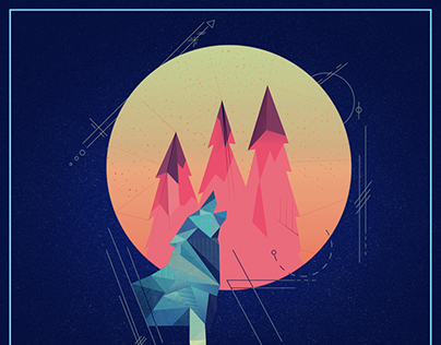 Geometric Posters Illustrations