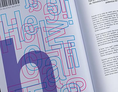 Helvetica - Projeto Gráfico e diagramação