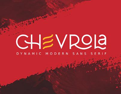 FREE | Chevrola Modern Sans Serif