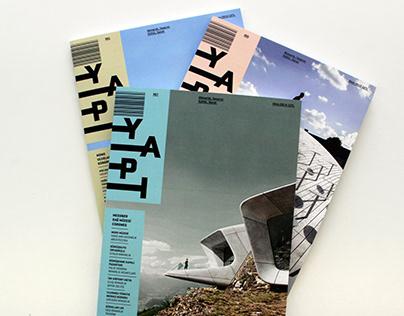 YAPI Magazine Design