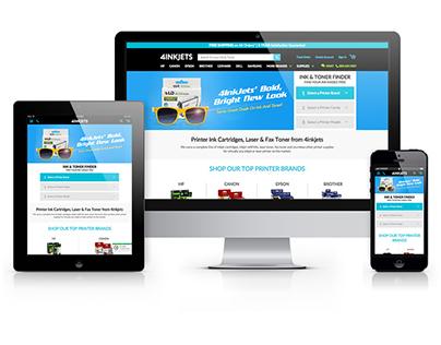 4inkjets Responsive Website Refresh