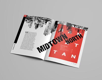 Walking New York Editorial Design