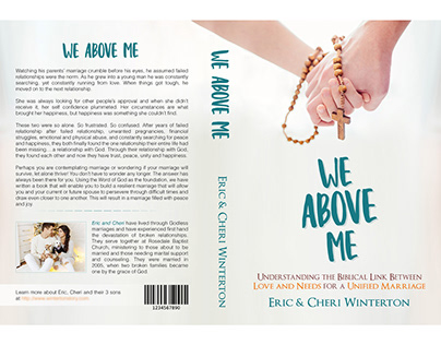 Book Cover Design (We Above Me)