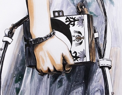 Dior SS17. Fashion Illustrations