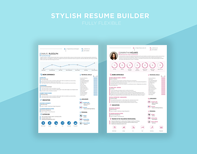 Stylish CV Builder