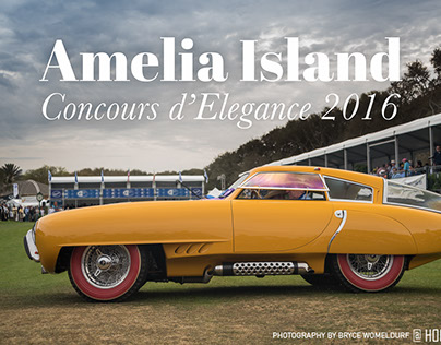 Amelia Island Concours d'Elegance 2016 photos & article