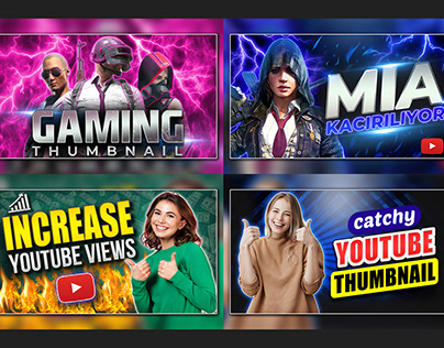 Gaming Youtube Thumbnail Design Template