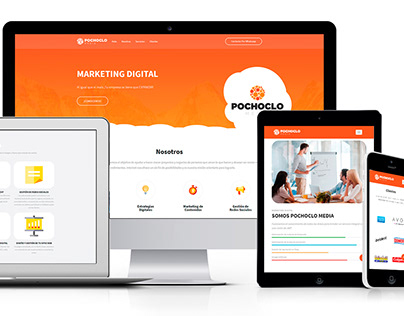 Pochoclo Media - Responsive Web