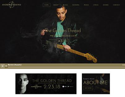 Andrew Serino Website
