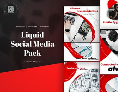 Liquid Social Media Kit